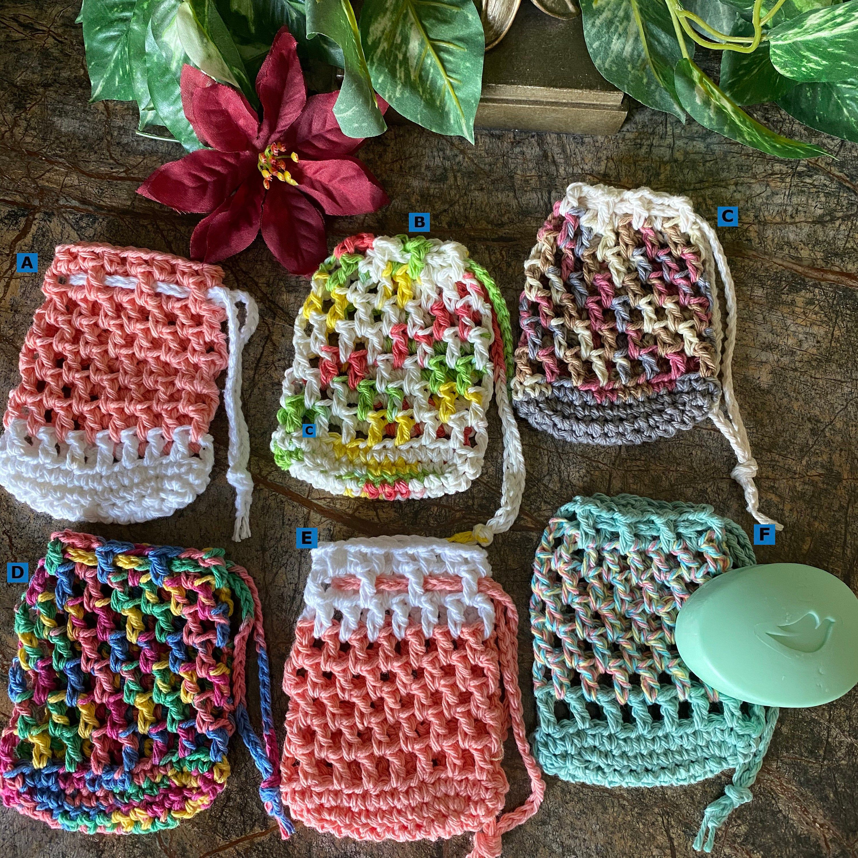 Soap Saver Soap Sack Mesh Soap Holder Bath and Body Mesh