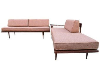Awesome Mid Century Modern Daybed Casara Modern Classic Sectional Gmtry Best Dining Table And Chair Ideas Images Gmtryco