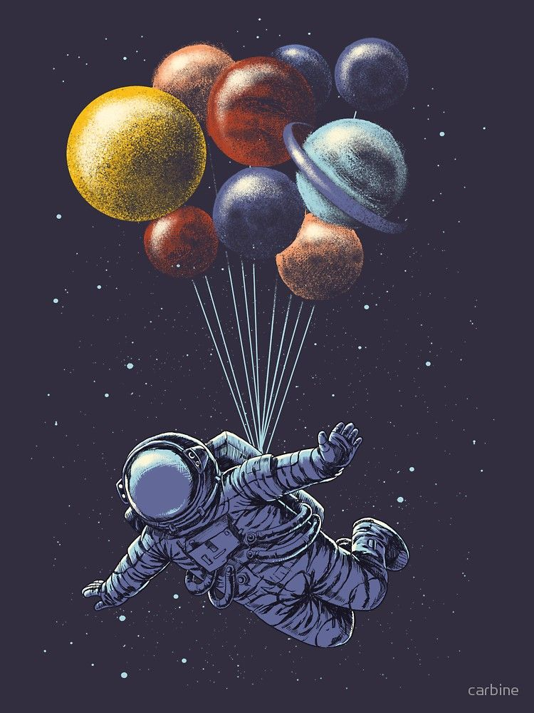 Space Travel T-Shirt by carbine