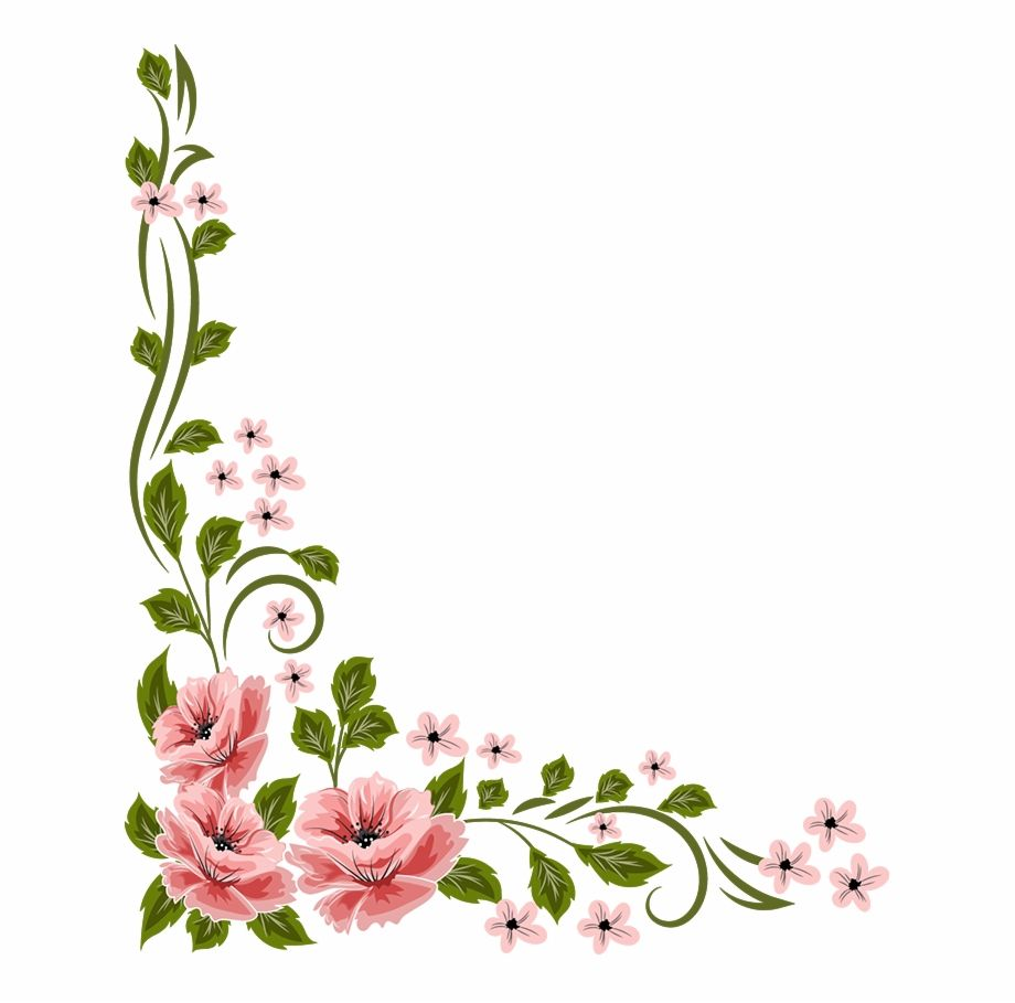 Marcos Vector Floral Flores Png Vector Is A Free Transparent Png Image Search And Find More On Sccpre Cat Flower Border Floral Flower Clipart