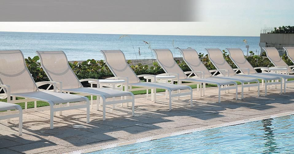 Sling Furniture Resort Pool Chairs Hotel Tropitone