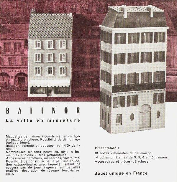 Catalogue Jouets HACHETTE 19591960 Catalogue jouets 1959-60 - maquette de maison a construire