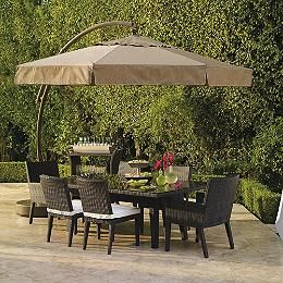 11 Cantilever Round Side Mount Umbrella With Images Patio Dream Patio Patio Umbrellas