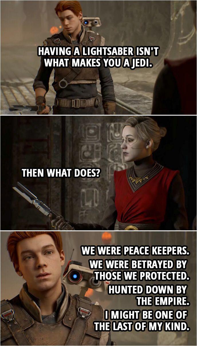 40 Best Star Wars Jedi Fallen Order Quotes Scattered Quotes Star Wars Jedi Star Wars Star Wars Fallen Order