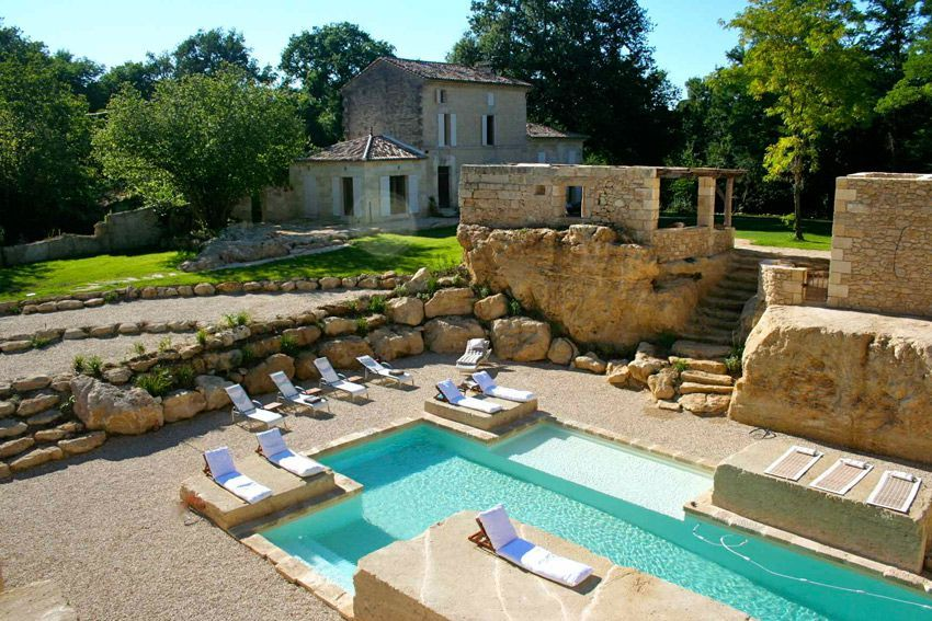 Self-catering vacation farmhouse in South West France with private - Residence Vacances Ardeche Avec Piscine