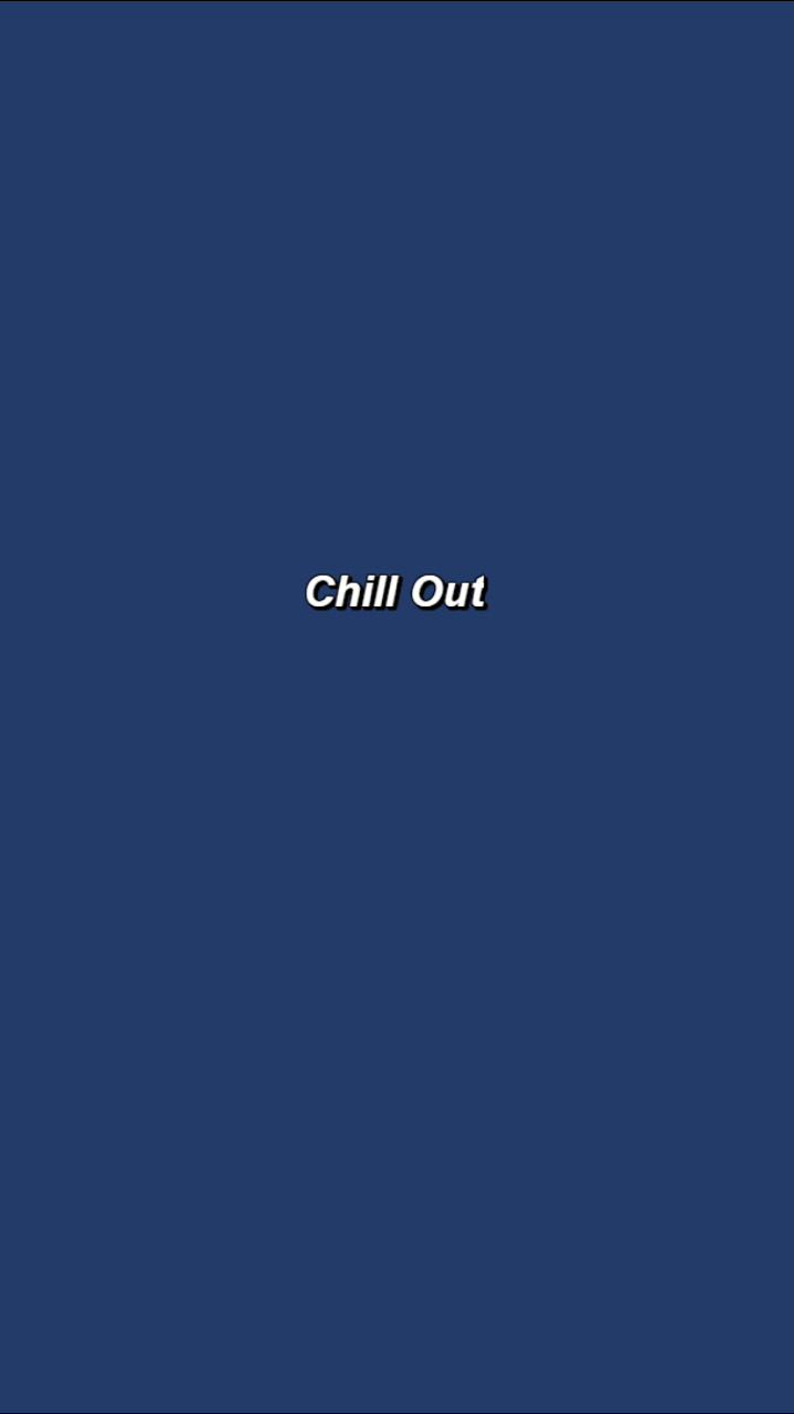 chill out Words wallpaper, Aesthetic iphone wallpaper