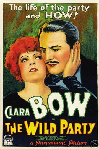 Clara Bow - The Wild Party