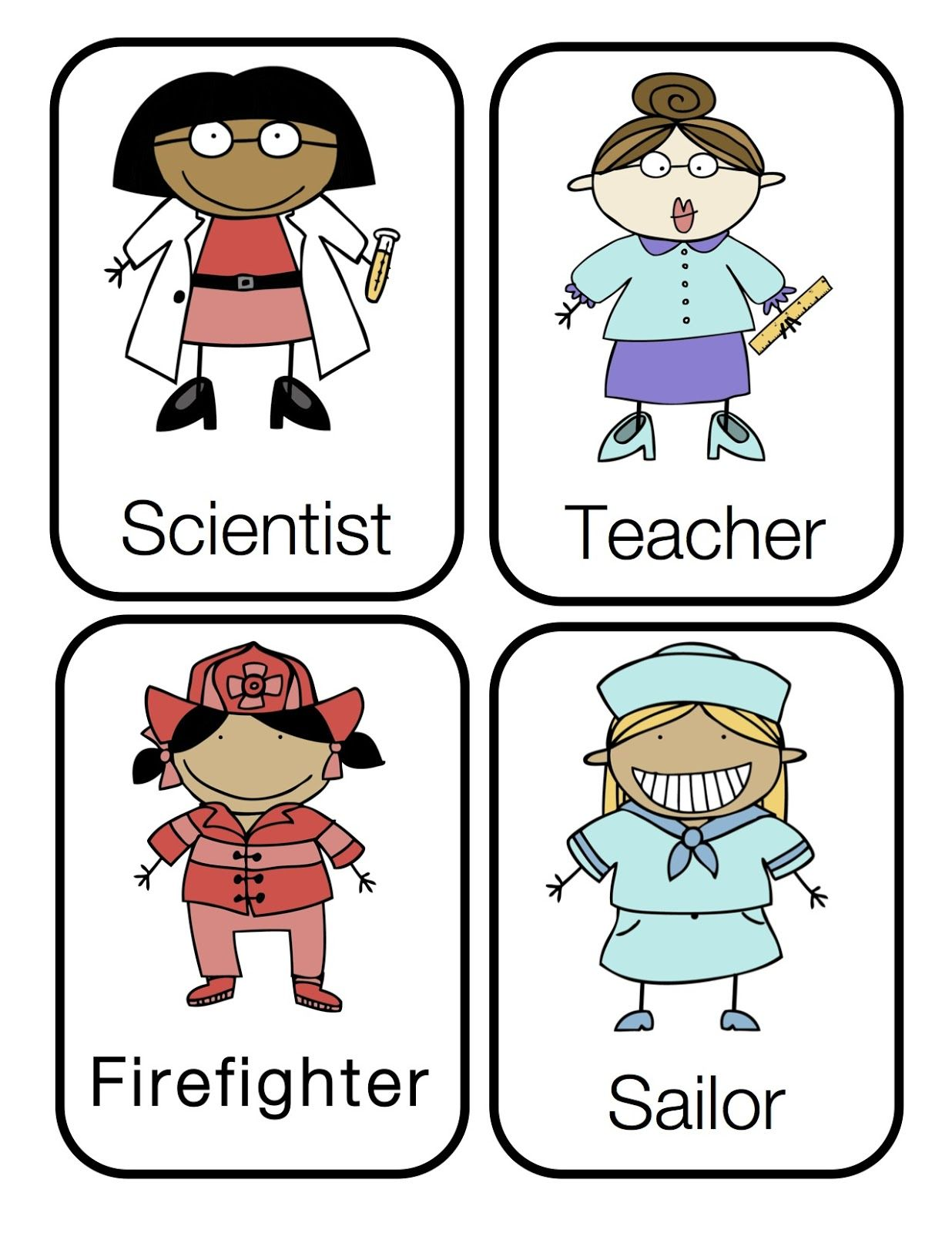 preschool printables community helpers preschool printables by