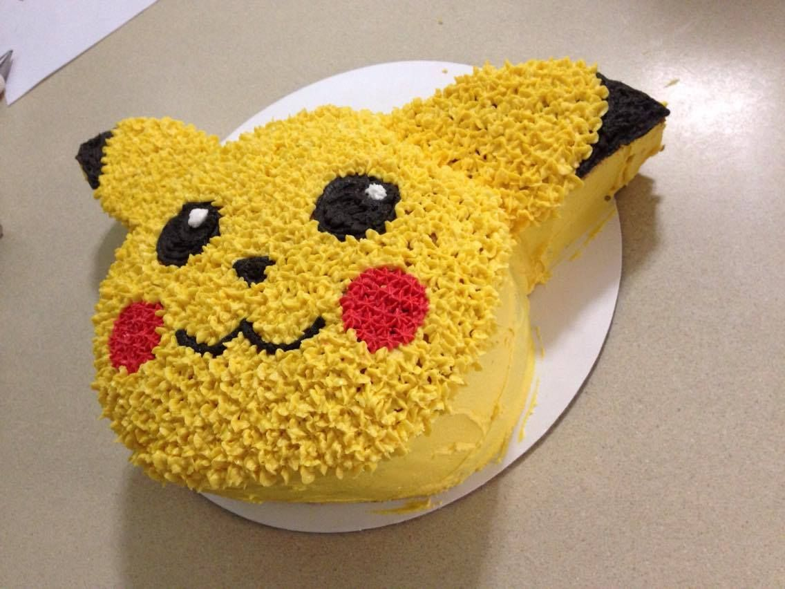 Pikachu Birthday Cake Pan