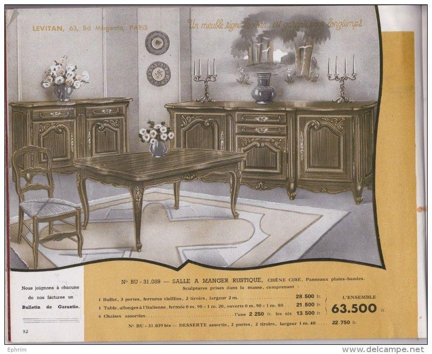 catalogue de meubles levitan 63 boulevard magenta paris meuble d coration art d co. Black Bedroom Furniture Sets. Home Design Ideas