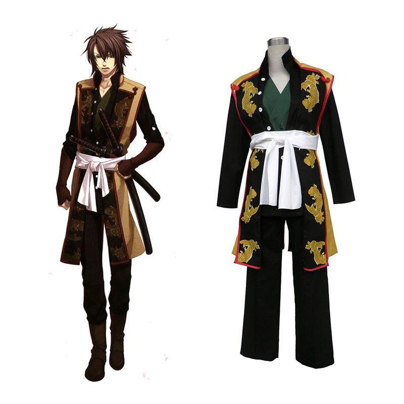 Hakuouki Okita Souji 1ST Cosplay Costumes  248bd8787008