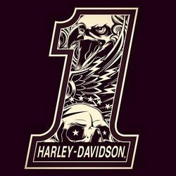 Harley Davidson 1 Logos Harley Davidson Wallpaper Harley Harley Davidson