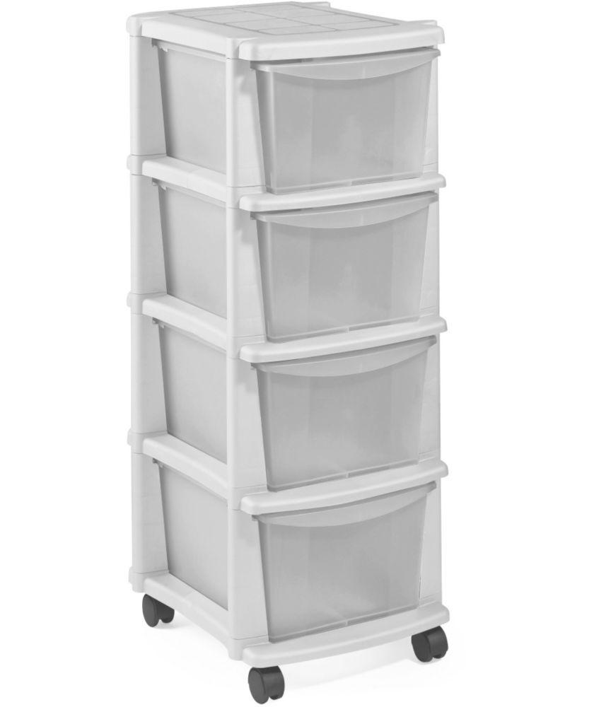 Buy Argos Home 4 Drawer Plastic Tower Storage Unit White Storage Units And Drawers Argos Plastic Box Storage Storage Unit Plastic Storage