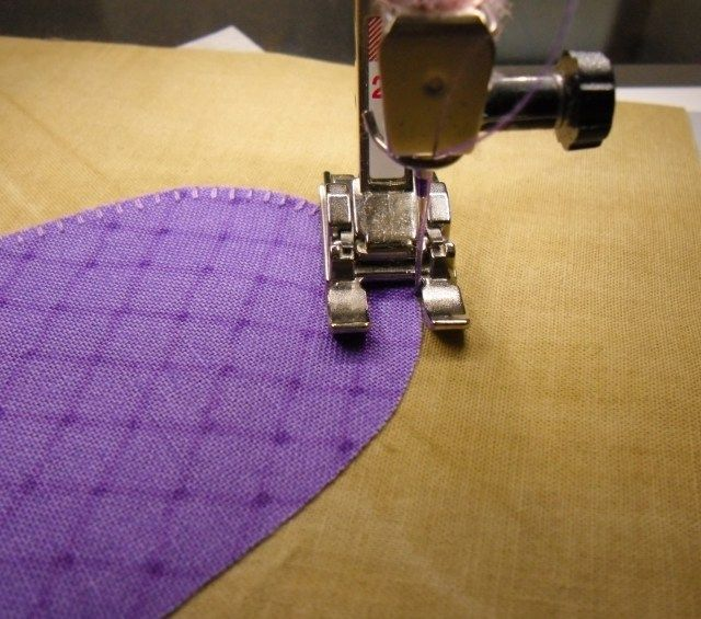 Applique Part 3 - Machine Applique Stitches - The Crafty Quilter
