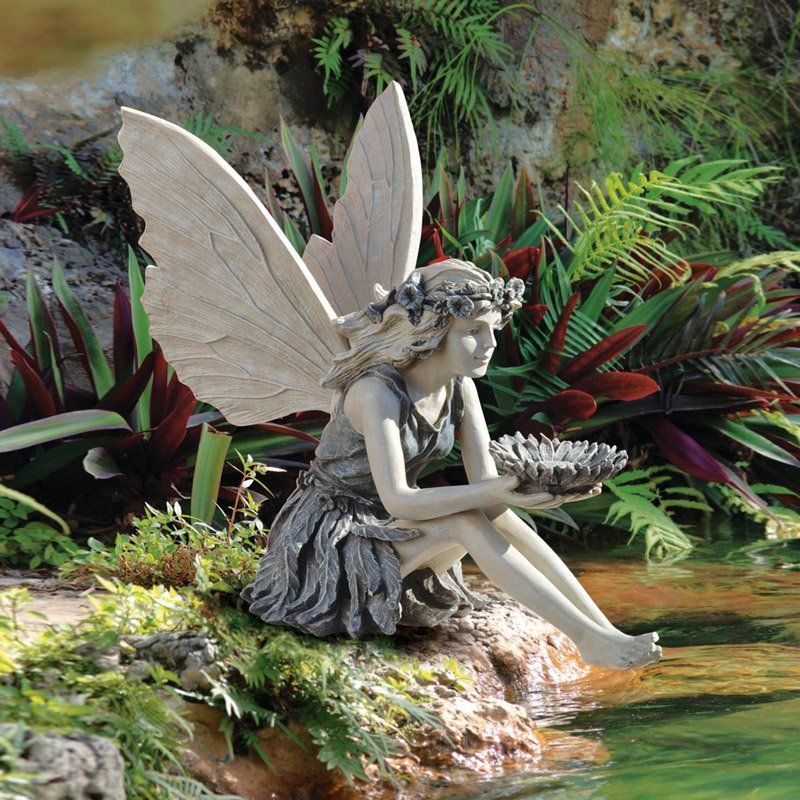 17 Best images about Fairy Statues on Pinterest Gardens Apple