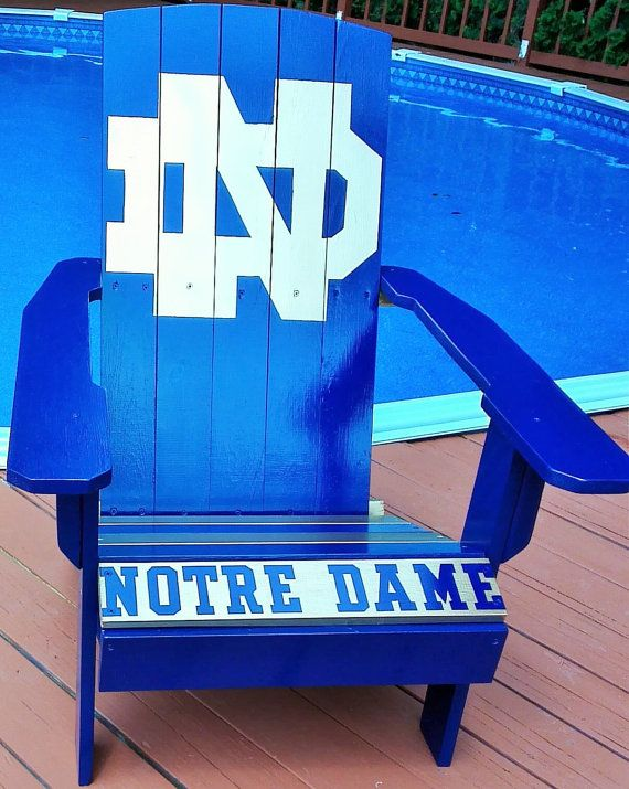 Notre Dame Chair And A Half Slipcovers T Cushion Hand Painted Adirondack By Bcadirondacks On Etsy