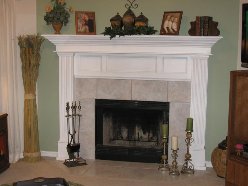 fireplace mantels pictures This lovely fireplace mantel serves