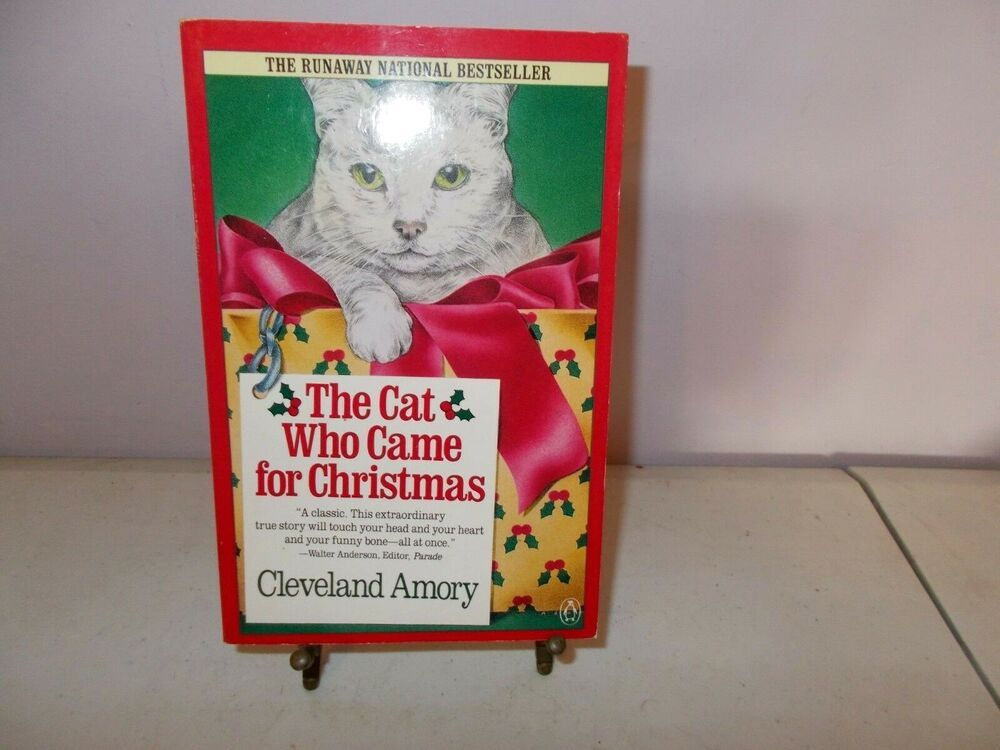 The Cat Who Came For Christmas Cleveland Amory Paperback