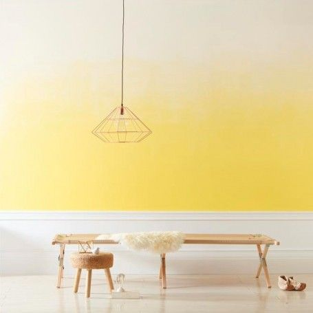 how to paint an ombre wall | Wall paint inspiration, Valspar paint ...