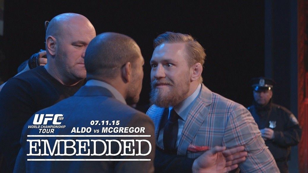 Ufc 194 Jose Aldo Vs Conor Mcgregor Embedded On Fox Full Episode I Ll Hold Your Beer Ufc 189 Ufc World Championship