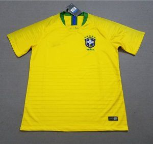 8fad9002e 2018 World Cup Jersey Brazil Home Replica Yellow Shirt  BFC416 ...