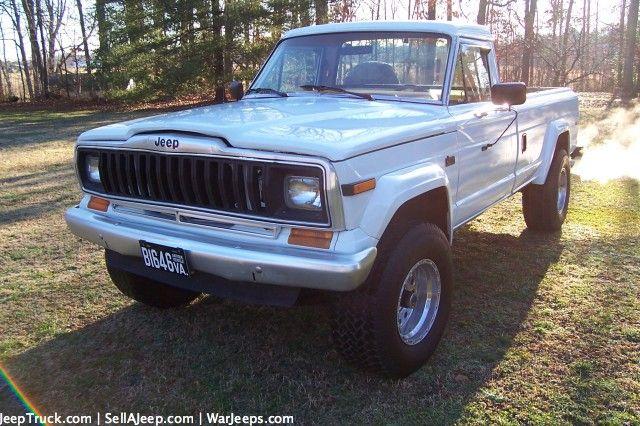 1985 Jeep J20 Jeep Truck Jeep Pickup Jeep Concept