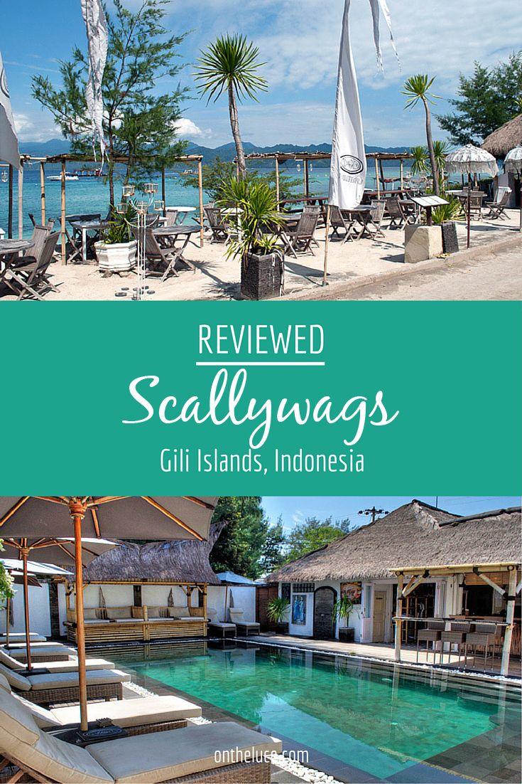 scallywags in gili trawangan reviewed southeast asia travel rh pinterest com