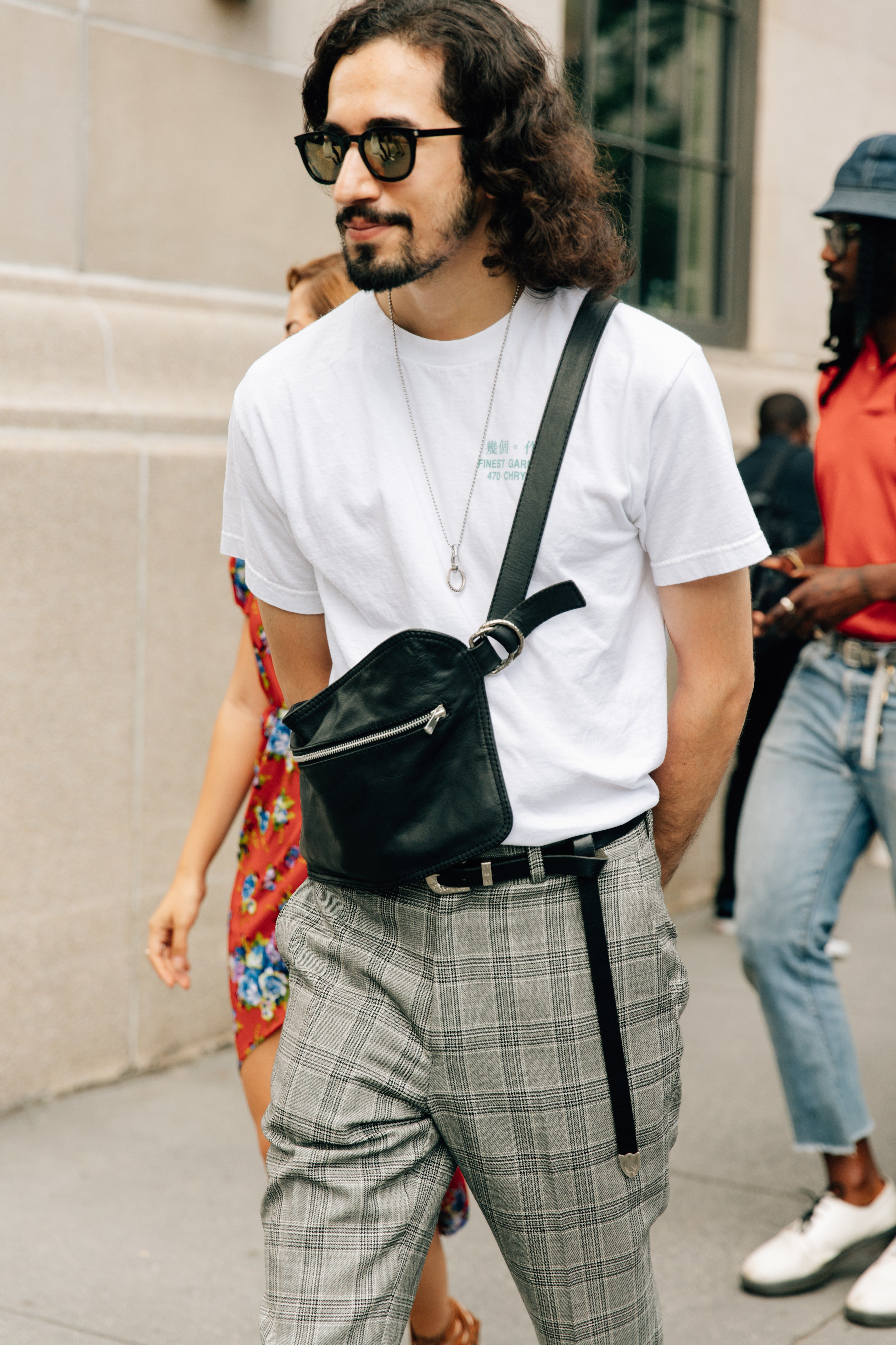 All the Best Street Style From New York Fashion Week Men