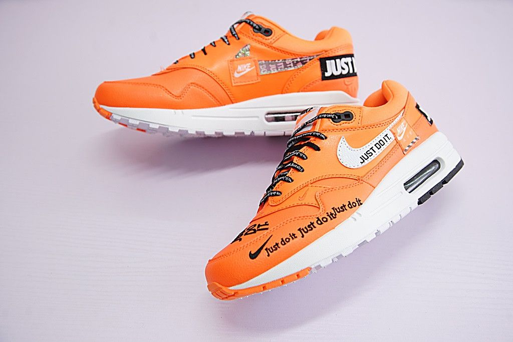 7e826d19 NIKE AIR MAX 1 JUST DO IT ID RETRO PATCHWORK ORANGE 917691 800 ...