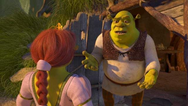 Shrek 2 Fiona And Shrek After Honeymoon