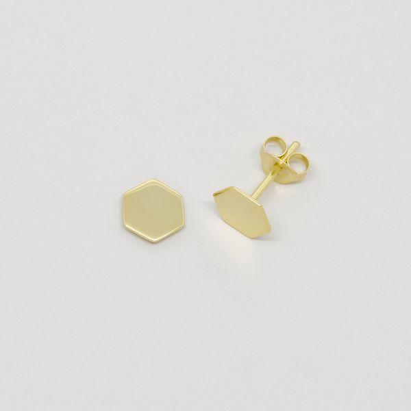 Photo of fejn jewelry Ohrstecker 'Shiny Hexagon'