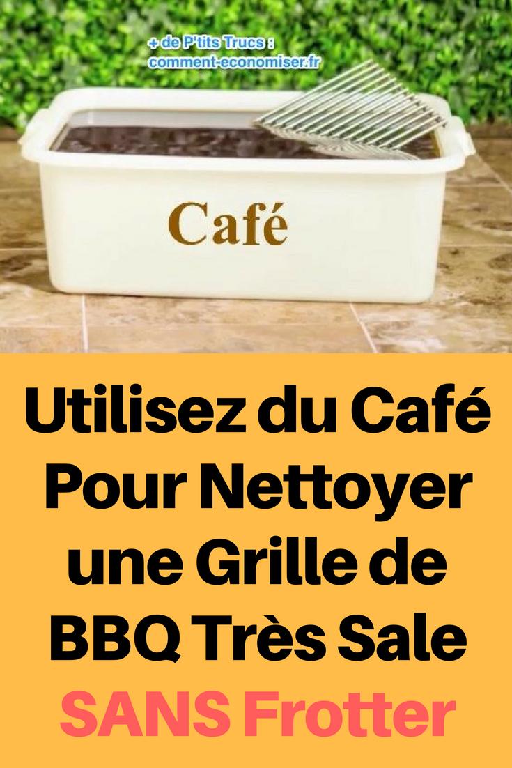 Comment Nettoyer Une Grille De Barbecue : comment, nettoyer, grille, barbecue, Utilisez, Café, Nettoyer, Grille, Très, Frotter., Nettoyage, Barbecue,, Produit, Faits, Maison,, Produits, Naturels