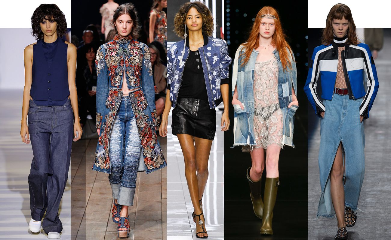 Jean Stories Presents the Top 5 Denim Trends From the Spring 2016 Shows