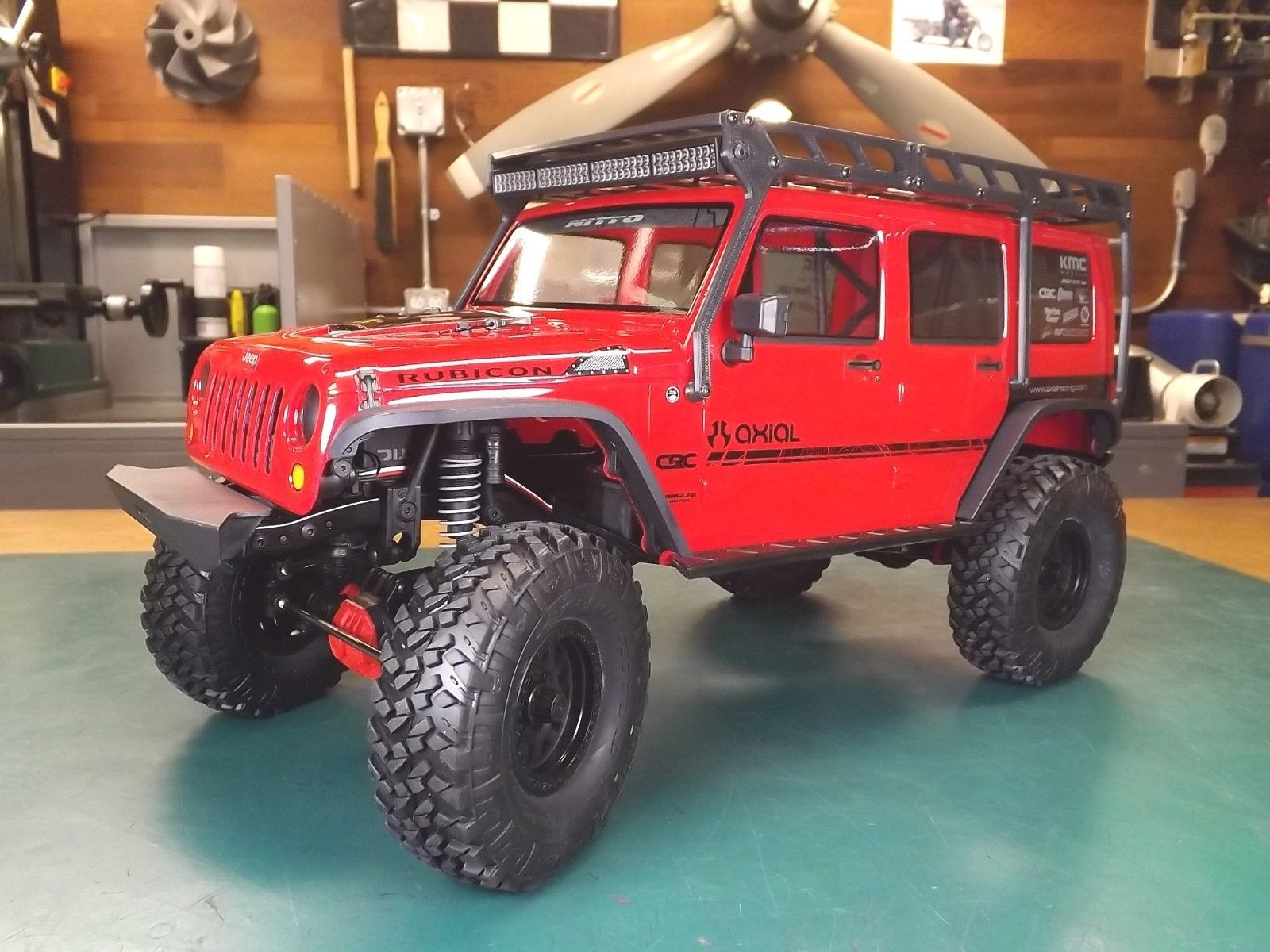 Details about RCDM Roof Rack For The Axial 2017 Jeep