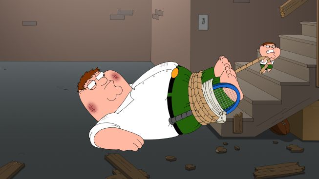 Chip Saves Peter Family Guy With Images Family Guy Full