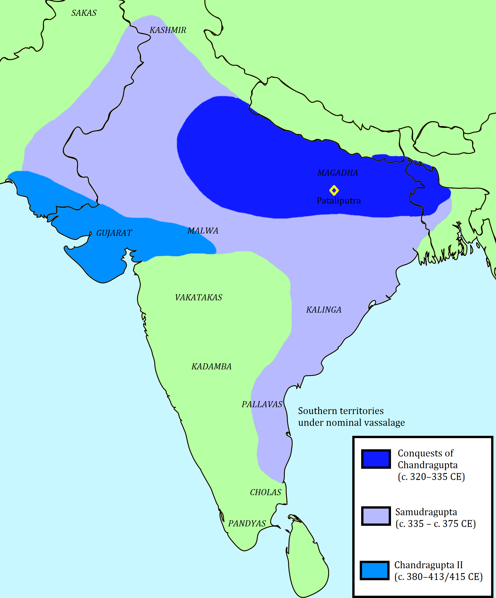 the indian sub continent was the home of the gupta dynasty Migrated into the indian sub-continent from their home north o a social class of hereditary and usually unchangeable status a sanskrit work meaning color to refer to their social classes.