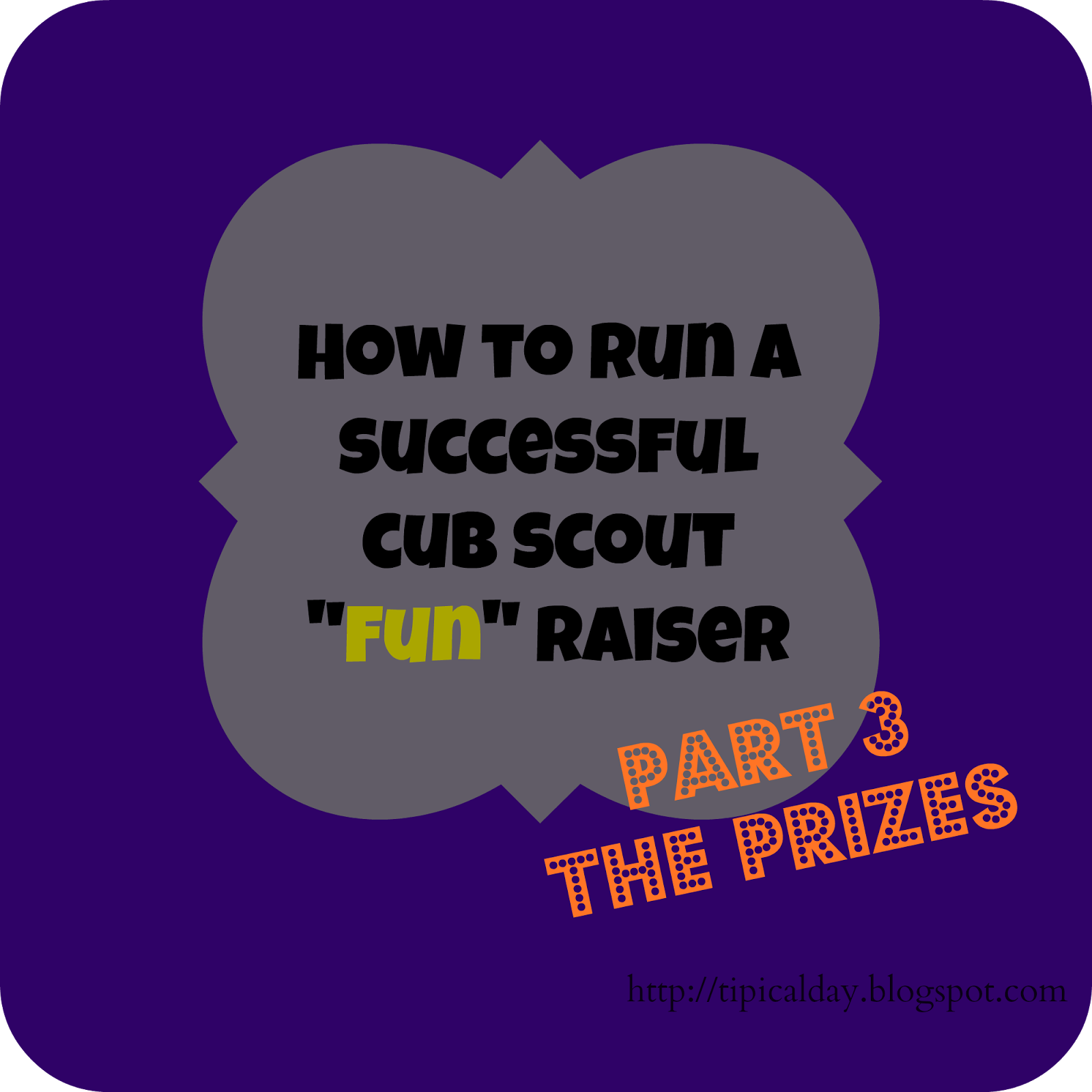 a tipical day: cub scout fundraising - part 3 (the prizes with more