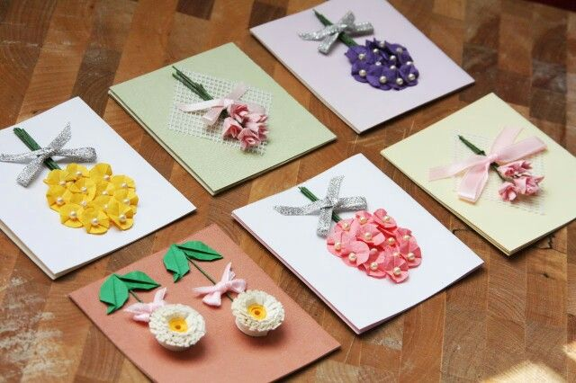 Paper handmade cards