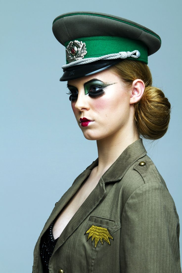 army make up - Google Search | Uniformly Undone Illustration Inspo ...