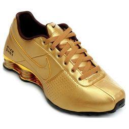 4252682ee84 Tênis Nike Shox Deliver - Dourado