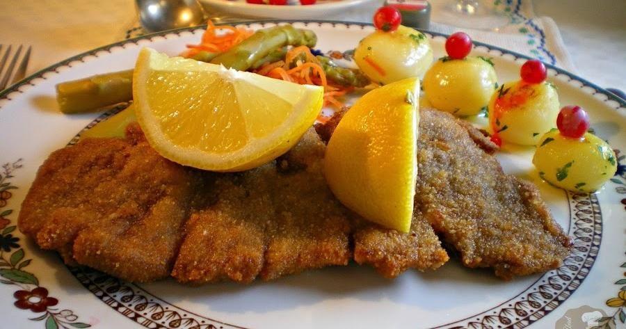 Wiener schnitzel o c mo cocinar un filete de ternera al for Cocinar filetes de ternera