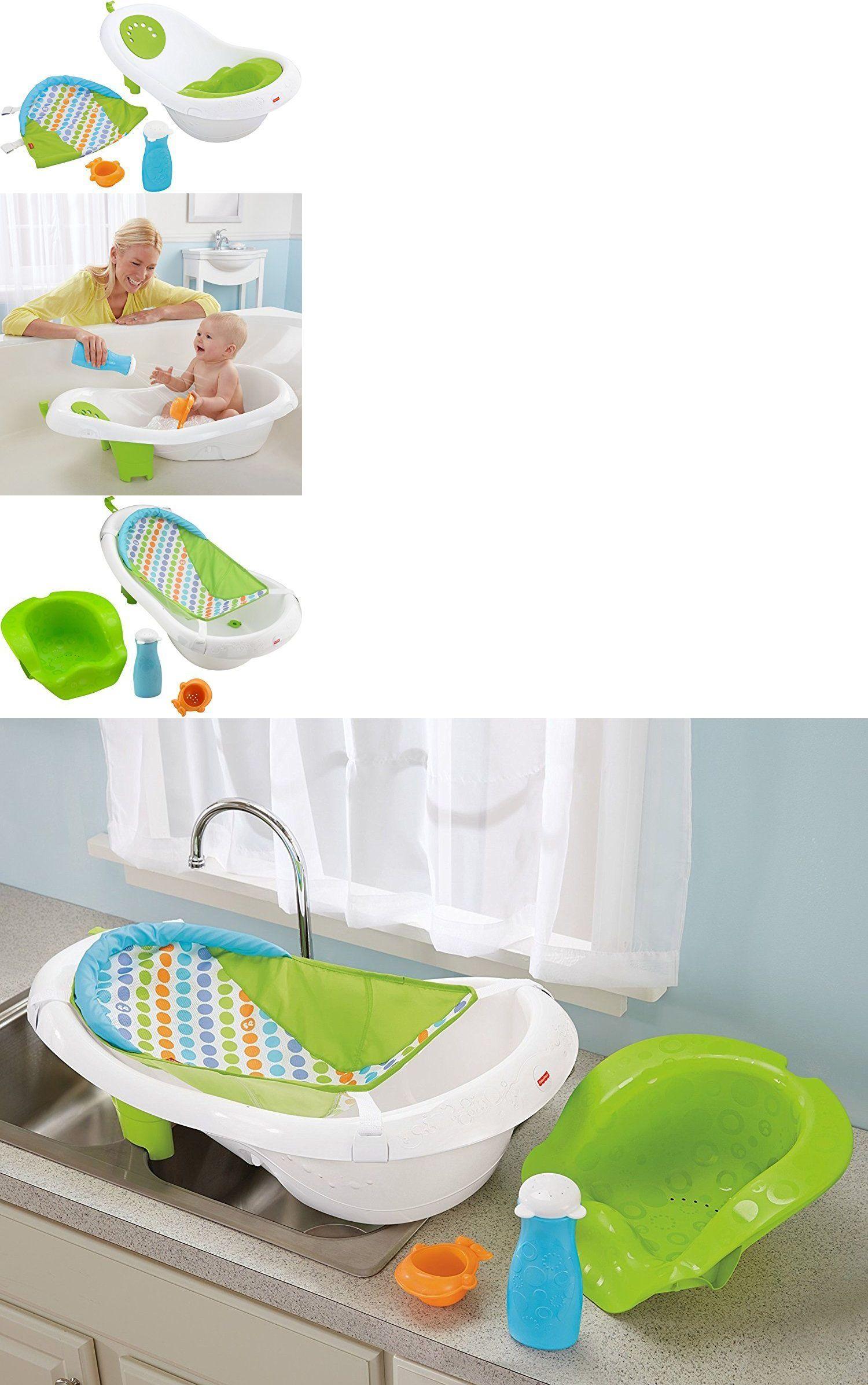 403b2e5eef2 Bathing and Grooming 20394  Fisher-Price 4-In-1 Sling N Seat Tub