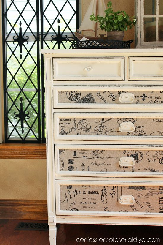 Fabric Inlaid Dresser Avec Images Mobilier De Salon Idee Deco Meuble Decoration