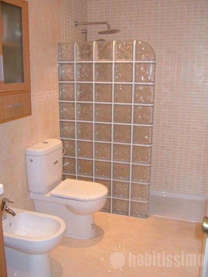 Reforma ba o con pav s casa r stica ba os cuarto de ba o y ba os modernos - Cuartos de banos pequenos con ducha ...