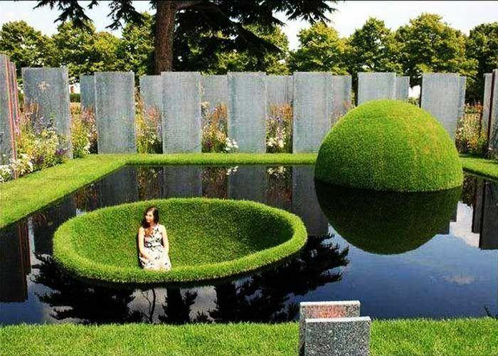 Bildergebnis für gartengestaltung ideen Garten Pinterest - gartenteich bilder beispiele