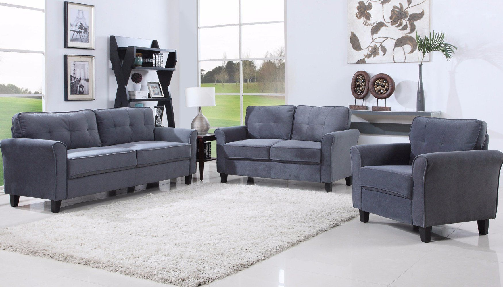 11+ Gray microfiber living room sets ideas