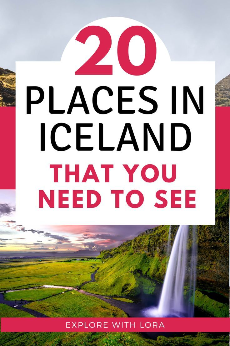 Discover the best attractions and things to do in Iceland as told by travel bloggers. 20 of the most beautiful all natural attractions in Iceland that you can visit in summer and winter. #Iceland #IcelandTravel #HotSprings #Waterfalls #Europe