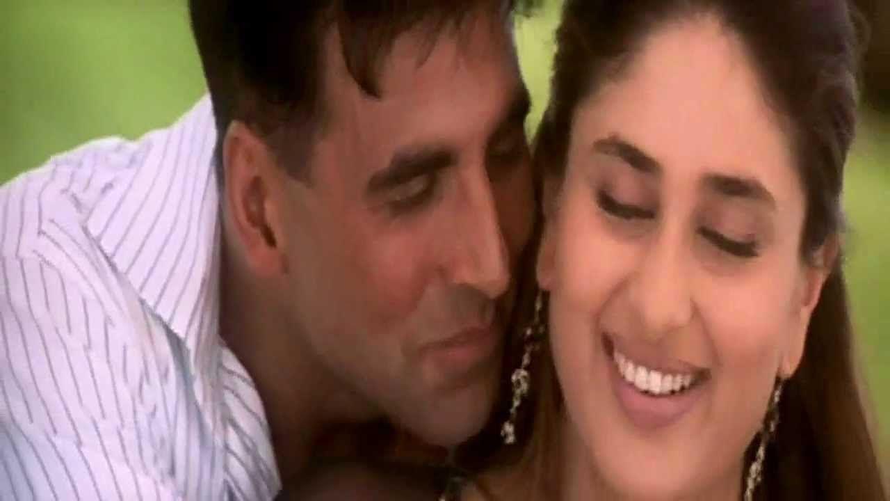 Aankhein Bandh Karke Eng Sub Full Video Song Hd With Lyrics Aitraaz Lagu Akshay Kumar Youtube