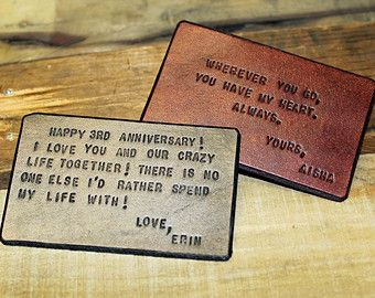 Leather Wallet Insert Card For Dad Grandpa Husband Boyfriend Father S Day Gift Men Anniversary Megans Mark
