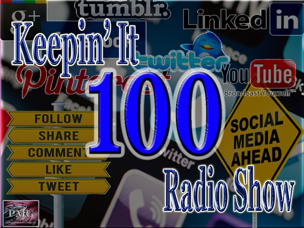 """Keepin' It 100 Radio Show!"" radio station"